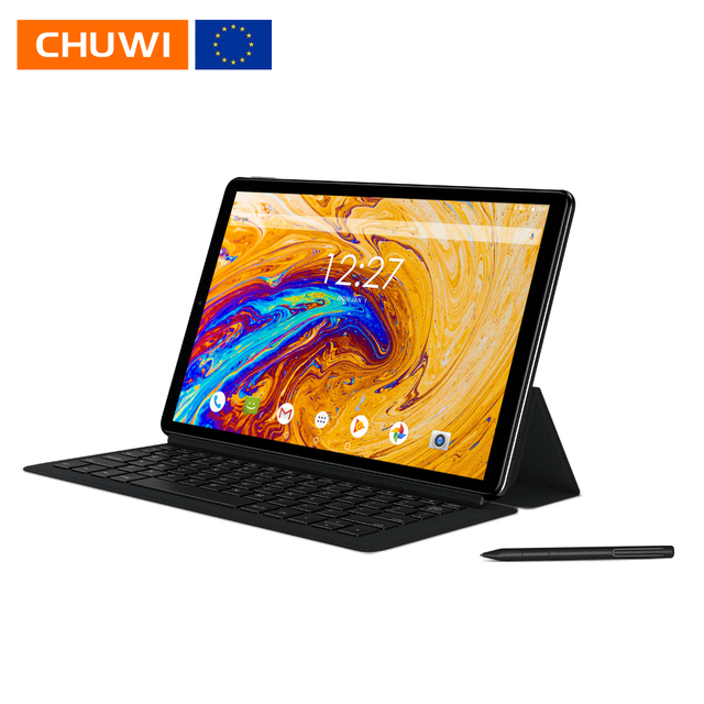 CHUWI Hi9 플러스 10.8 인치 2560*1600 디스플레이 MTK6797 X27 데카 코어 4 기가 바이트 128 기가 바이트 안드로이드 8.0 정제 듀얼 와이파이 듀얼 카메라 7000mAh