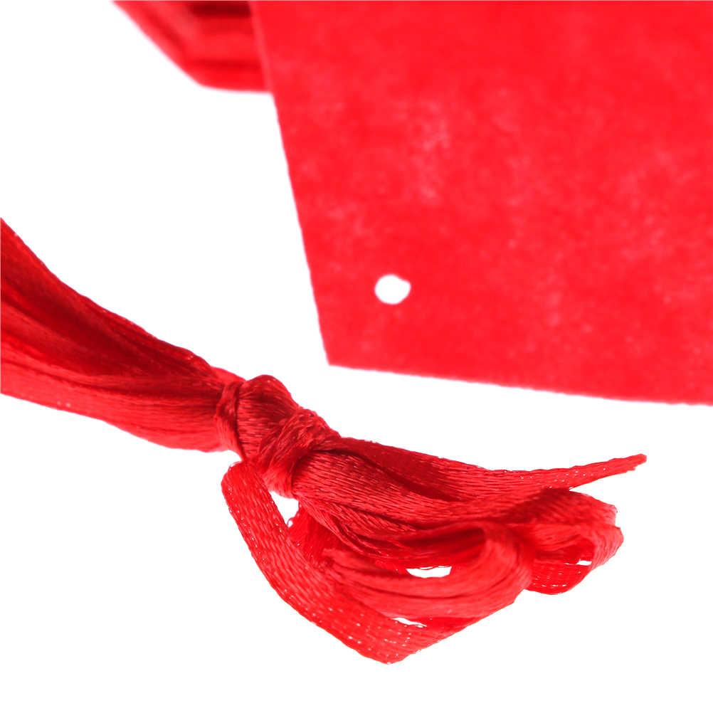 18 diy não-tecido guirlanda amor criativo coração cortina fontes de casamento decoração casamento romântico layout da sala de casamento 7.5*6cm