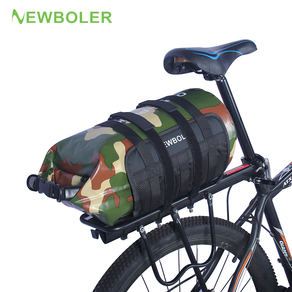 10L 15L 20L <font><b>Bike</b></font> <font><b>Carrier</b></font> <font><b>Bag</b></font> Rear Waterproof Travel Handbag Casual Bicycle Luggage Saddle <font><b>Bag</b></font> Shoulder Crossbody Cycling <font><b>Bag</b></font> image