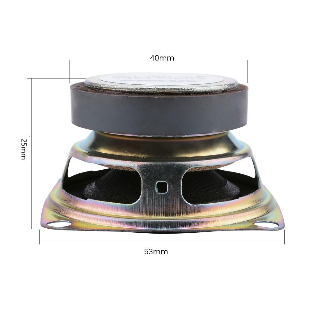 Altoparlanti Stereo Mini 3W DIY Full Range Altoparlante 4ohm Altoparlante Silm Altoparlante Portatile Attivo Esterno Uso Esterno Auto Motor Motor Moto