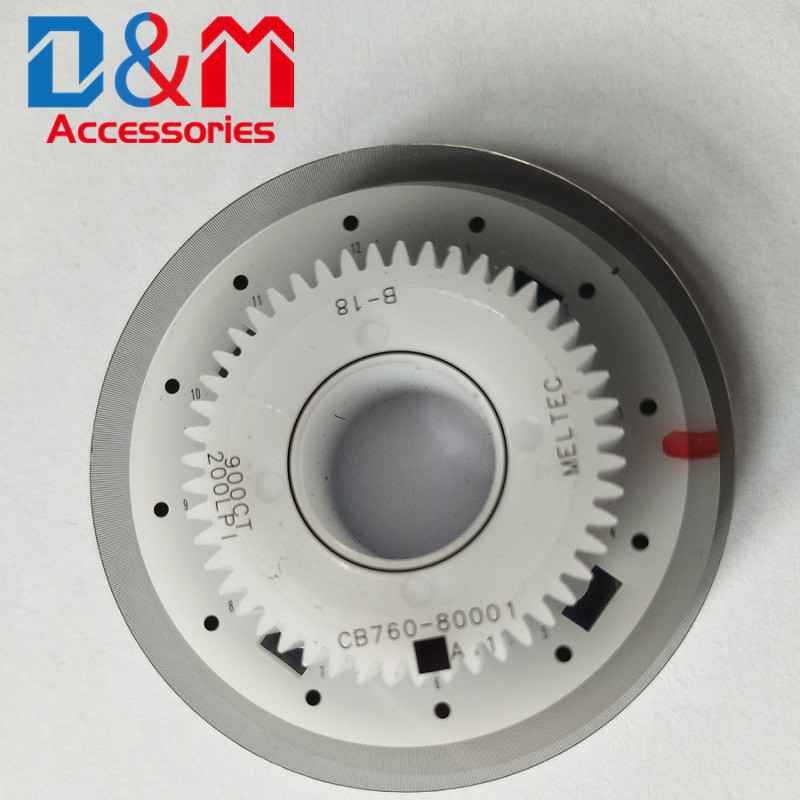 Encoder Timing Disk assembly CB760-80001 for <font><b>HP</b></font> GT5810 <font><b>5820</b></font> HP3838 3638 4729 DeskJet 1510 1515 2131 2135 2138 2529 2029 image
