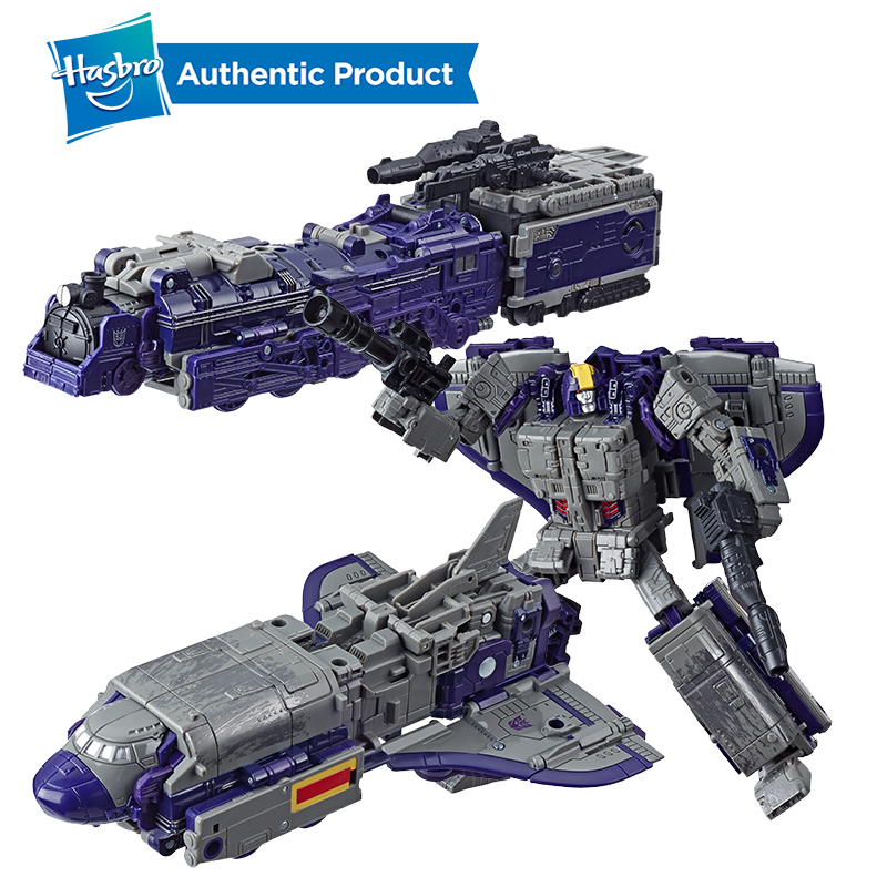 Hasbro Transformers Toys Generations War For Cybertron Siege Leader Class WFC-S51 Astrotrain Triple Changer Action Figure