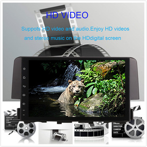 Image 3 - 9 Inch Android 9.0 IPS Screen Car Radio player  For Honda Civic 2016 2020 Car Video WIFI Multimedia Car GPS Navigation Head Unit
