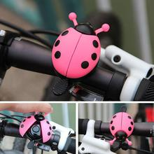 Bicycle Bell Ring Beetle Cartoon Cycling Bell Lovely Kids Ladybug Bell Ring for Bike Ride Horn Alarm bicycle Accessories недорого