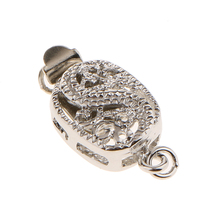 5pcs Dragon Animal Engraving Box Clasp Push Bracelet Necklac