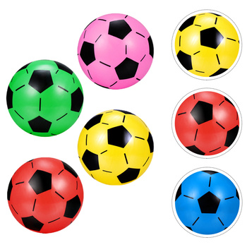 4 szt Dzieci tradycyjne piłki nożne dla dzieci nadmuchiwane piłki nożne na zewnątrz tanie i dobre opinie CN (pochodzenie) Soccer Football Kids Colorful Football Inflatable Soccer Balls Kids Soccer
