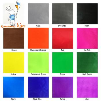 1 5m X 1m Ripstop z nylonu 19 kolorów 40D ultralekki latawiec tkanina powlekana PU wodoodporna tkanina do produkcji flag namiotowych tanie i dobre opinie emmakites 3 lat KT7501-KT7517 Kite reel bag Unisex Długi Pojedyncze Ripstop Nylon Fabric 238T PU layer 1 55m Width x 1 0m Length