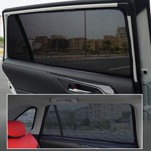 Magnetic Car Window Sun Shade Sunshield Curtain Visors Sunproof Gauze Mesh Protection Cover For Haval H6 2020