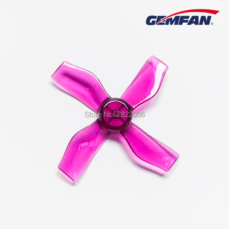 4Pairs 8pcs Gemfan <font><b>1220</b></font> 1.2x2.0x4 31mm Shaft 1mm Hollow cup brushless <font><b>motor</b></font> 4-Blade CCW/CW propeller RC Drone airplane parts image