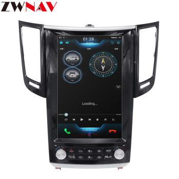 Tesla style Android 7.1 Car Multimedia Player For Infiniti FX FX25 FX35 FX37 qx70 GPS Navi radio audio big screen head unit image
