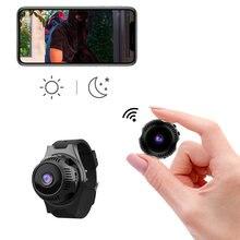 Мини спортивная экшн Камера hd1080p wifi Водонепроницаемая широкоугольная