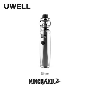 Image 5 - UWELL Nunchaku 2 ערכת 100W Vape Mod 5ML Nunchaku 2 טנק רשת סליל תמיכה 18650 20700 21700 סוללה e סיגריה Vape ערכת