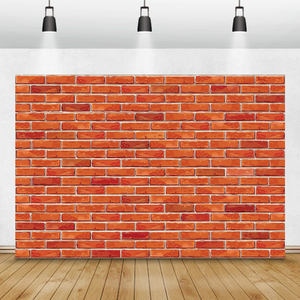 Image 5 - Laeacco Brick Wall Backdrops Vintage Grunge Baby Portrait Photography Backgrounds Birthday Party Photocall For Photo Studio Prop