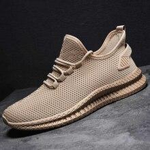 Lightweight Men Sneakers Breathable Men Casual Shoes Fashion Vulcanized Shoes Comfortable Jogging Sneakers Zapatos De Hombre