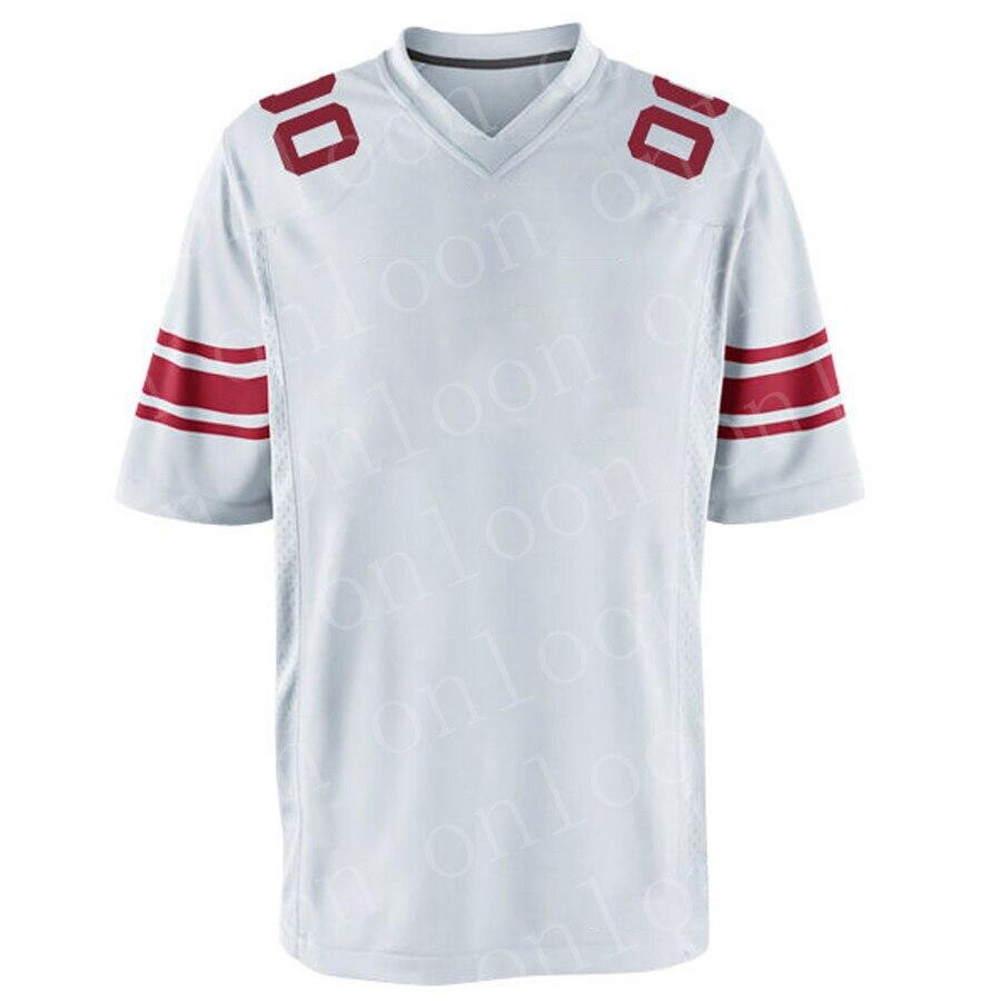 Game 2020 Mens Jersey American Football New York Sport Fans Wear Eli Manning Daniel Jones Landon Collins Phil Simms Jerseys