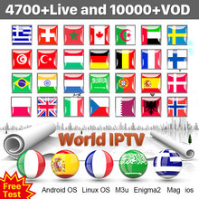 IPTV France Arabic Italy Spain Portugal IPTV M3U Subscription Code IPTV Germany Canada Sweden Poland Norway Albania Turkey IP TV(China)