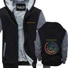 PENDEL TROMMEL UND BASS ELEKTRONISCHE ROCK MUSIK AUSTRALIEN hoodie Marke Männlich Slim Fit dicken hoodies Mann hoodie sbz4602