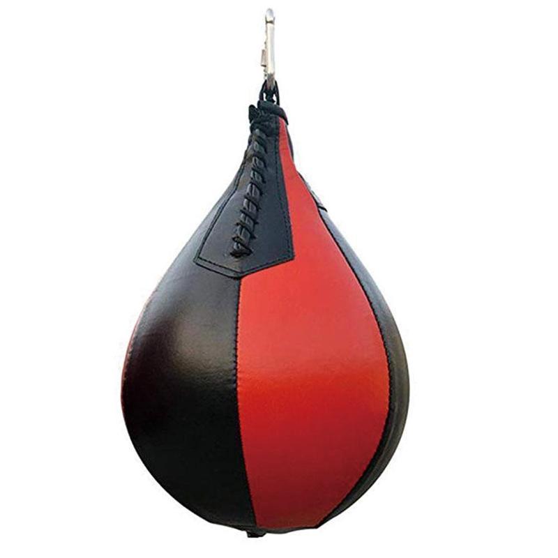Profissional de fitness boxe pêra velocidade bola