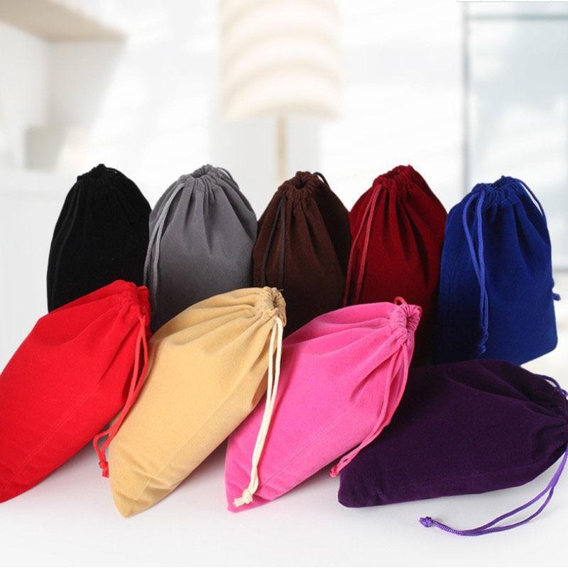 Small Velvet Drawstring Bag 8x10cm (3
