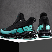 Mode hommes chaussures décontractées 2020 marque baskets léger à lacets marche formateur respirant Anti-choc épais grande taille baskets