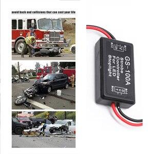 EAFC универсальный контроллер вспышки GS-100A Flasher Модуль для транспортных средств Автомобильный светодиодный стоп-светильник сигнальный светильник 12-24 В