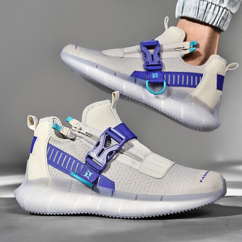 2020 novos sapatos masculinos tamanho sapatos esportes ao ar livre tênis de corrida à moda confortável respirável