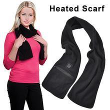 Мужской шарф с подогревом, шарфы с подогревом, шарф для шеи, USB, согревающий шею, для улицы, для женщин, мужчин, походные принадлежности