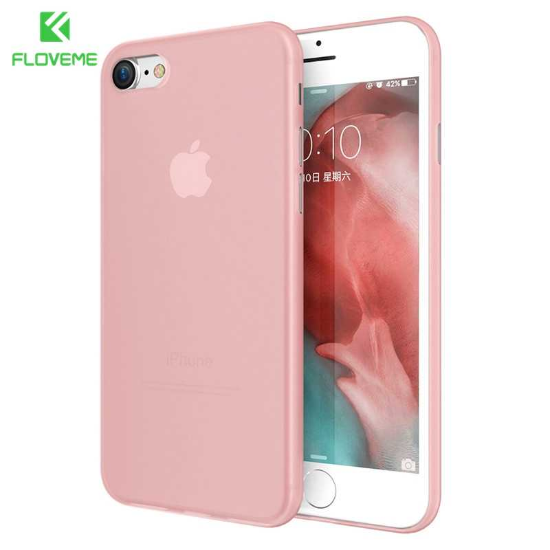 Funda ultrafina de Apple para iPhone 7 XR XS MAX Funda transparente para iPhone X XS 5 5s SE 6 6s 7 8 Plus Funda de teléfono a prueba de golpes funda iphone 7