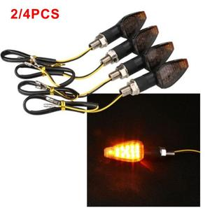 2pcs Turn Signals For Motorcycle Stop Signal Motorcycle Directional Led Flashing Lamp Brake Light ForMotorcycle Car Accessories