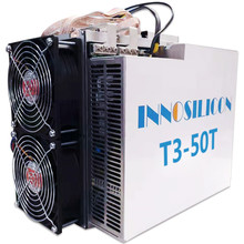 BTC МПБ Шахтер Innosilicon T3 Технические данные: около 50 т лучше, чем Innosilicon T2T Antminer S9 S15 S17 Pro S17e T17 T17e WhatsMiner M3X M21S M20S