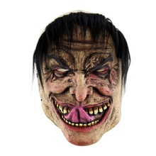 New Funny Halloween Party Masks Latex Mask Old Man Latex Mask For Masquerade Halloween Costume Party Cosplay Decor Supplies Mask eva half face rabbit cosplay halloween masquerade masks halloween bunny adult party mask new year mask cosplay costume supplies