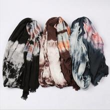 Spring Cotton Maxi Scarves Wrap Women Muslim Hijab Headscarf