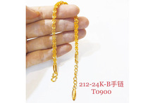 Gold-plated new explosions wedding phoenix alloy bracelet fashion temperament women wear jewelry products new mammoth teeth women s fashion aristocratic temperament female gold plated with a hoard of s925 eardrop