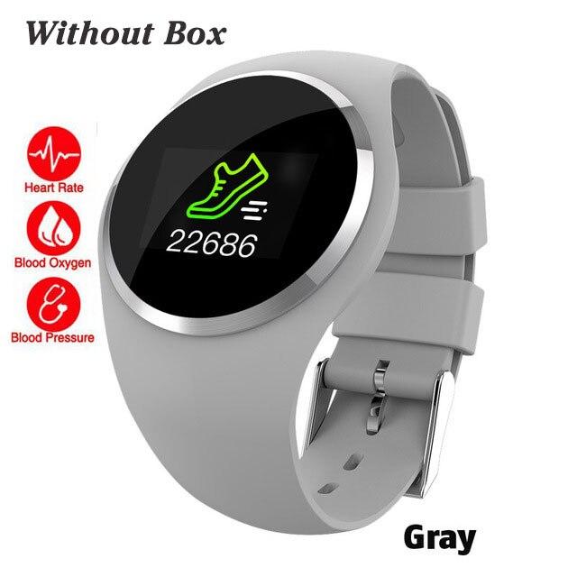 Bluetooth леди Смарт часы модные женские монитор сердечного ритма фитнес-трекер Smartwatch Приложение Поддержка для Android IOS pk Q8 Q9 - Цвет: gray