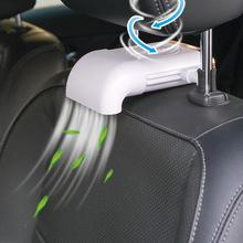 Artykuły motoryzacyjne siedzenia samochodowe grzejniki samochodowe grzejniki samochodowe wentylatory chłodzące wentylacja poduszki chłodzące dmuchanie powietrza dropshipping tanie tanio 12 v 19cm ABS circuit board motor Ogrzewanie i fanów 0 27kg 11cm 10 W 0inch suitable for vehicles with headrest rods