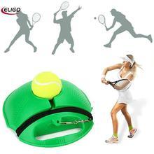 (Бросая товаров) теннисный тренажер основание + резинка мяч один теннис тренер обучение практика отскок мяча заднем сиденье