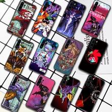 Genesis Evangelion NGE EVA Phone Case For Huawei P Mate 10 20 30 40 Pro Lite Smart 2019 2021 black Hoesjes Painting Cover 3D