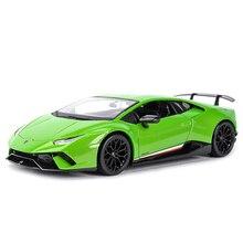 Maisto 1:18 허리케인 공연 LP610 4 녹색 스포츠카 정적 시뮬레이션 다이 캐스팅 차량 Collectible Model Car Toys