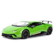 Maisto 1:18 Uragano Performmante LP610 4 Verde Sport Auto Statico di Simulazione Pressofuso Veicoli Da Collezione Modello di Auto Giocattoli
