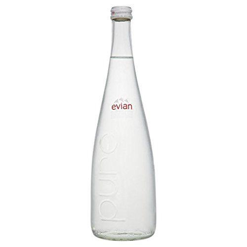 Noch Evian Mineralwasser Glasflasche 750ml
