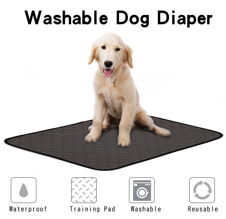 Reusable Diapers For Dog Urine Water Absorbency Diaper Sleeping Bed For Small Dog Pet Dog Absorbent Mat Puppy Training Pad