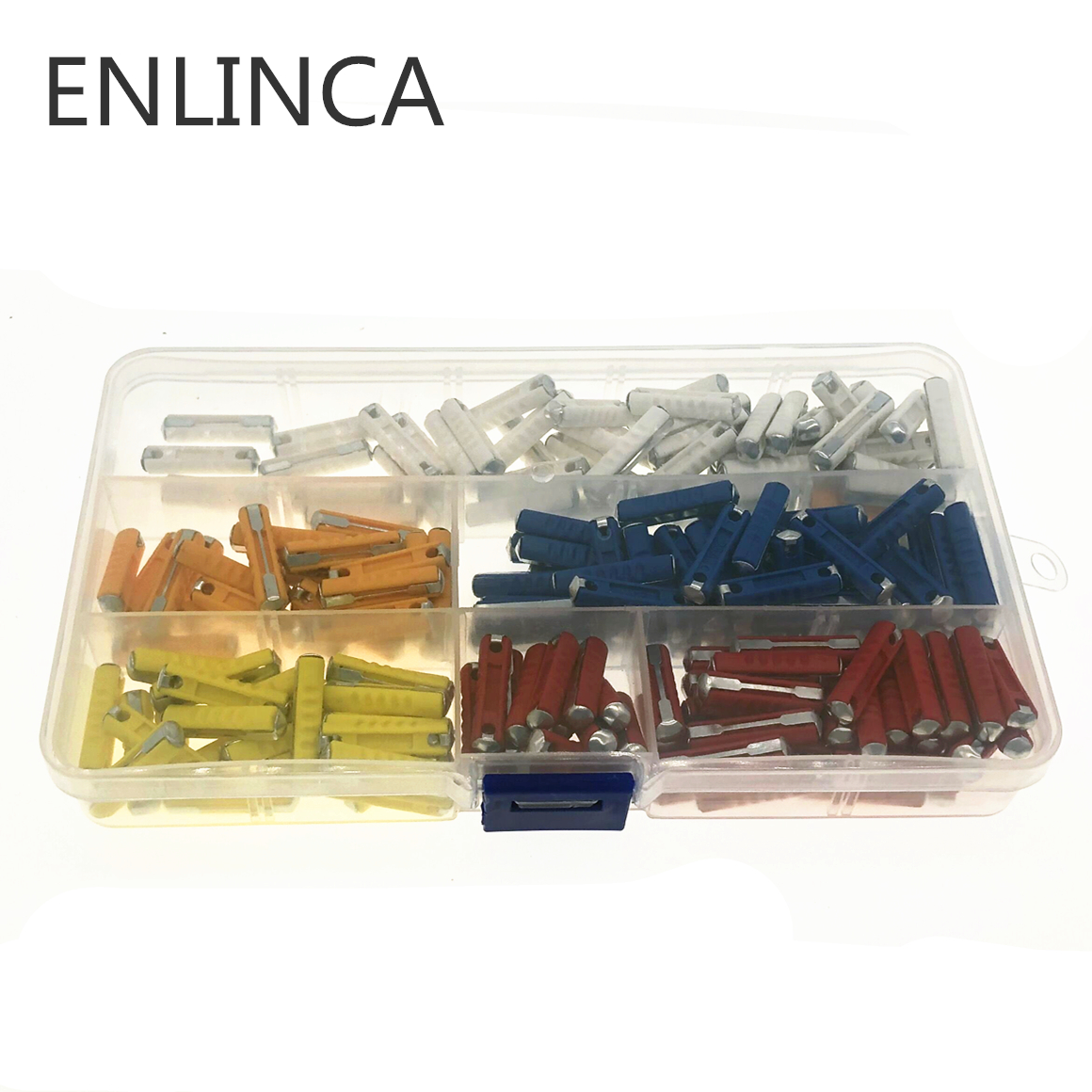 200Pcs/Kit 5A 8A 10A 16A 25A Classic Car Auto Fuses Kit Ceramic Continental Car Fuse Bullet Automotive European Fuse