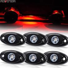 Waterproof LED Ambient Light for UTV ATV SUV RZR Off Road Boat underglow Lamp Truck Bed Lighting Under Body Light Footwell