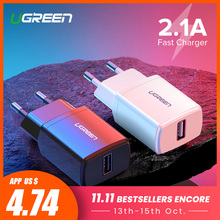 Ugreen 5V 2 1A USB Charger for iPhone X 8 7 iPad Fast Wall Charger EU