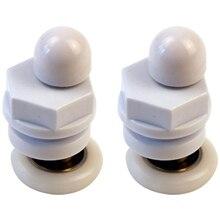 8 Pcs Shower Replacement Roller Bathroom Sliding Door Accessories