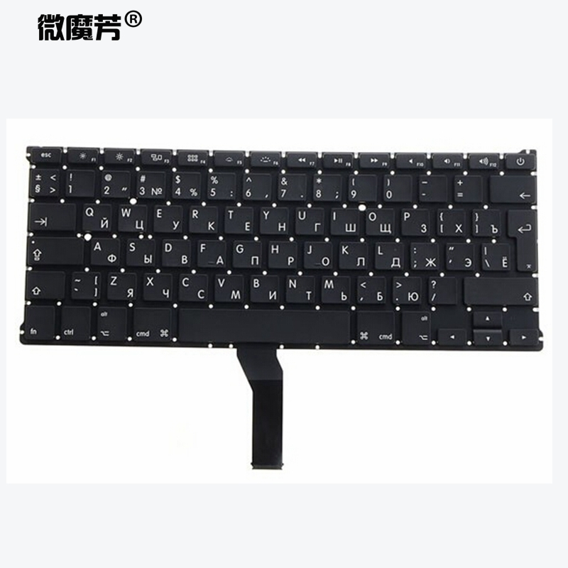 Russian RU New Laptop Keyboard For Macbook Air 13