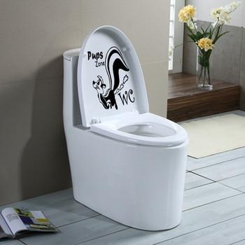 Stickers Toilettes Humour