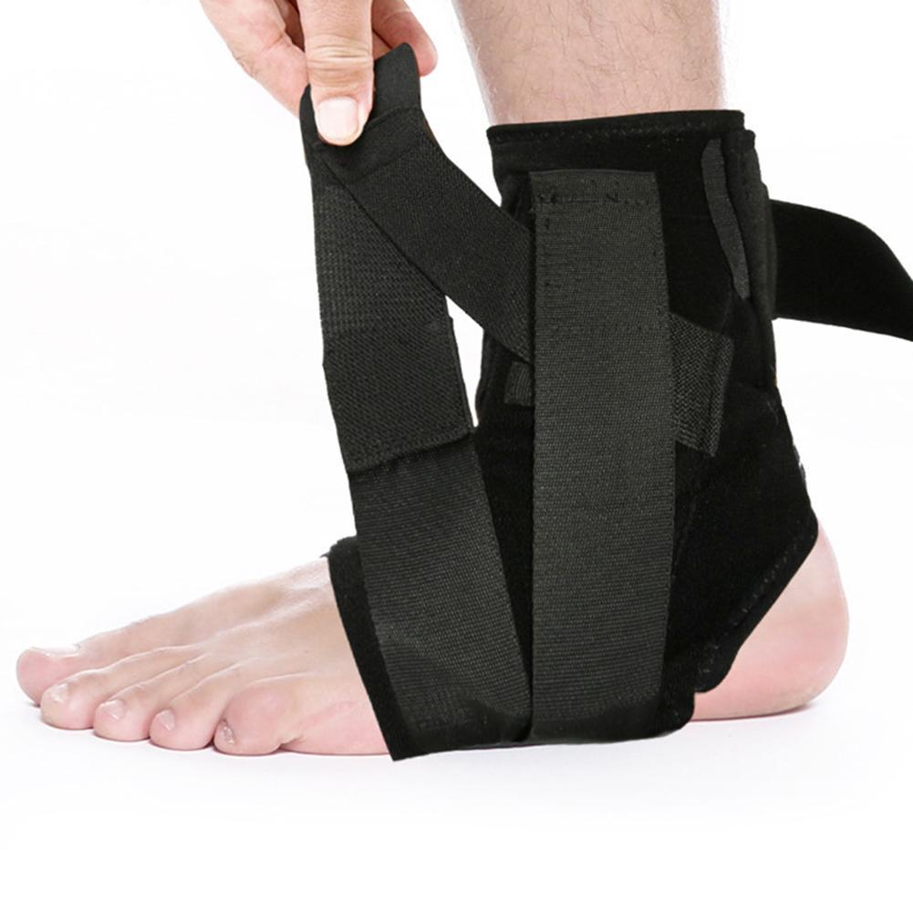 Cinta de Nylon Brace para Vôlei Esporte Ankle Brace Protector Compressão Suporte Pad Elástica Basquete Futebol 1 Par 3d
