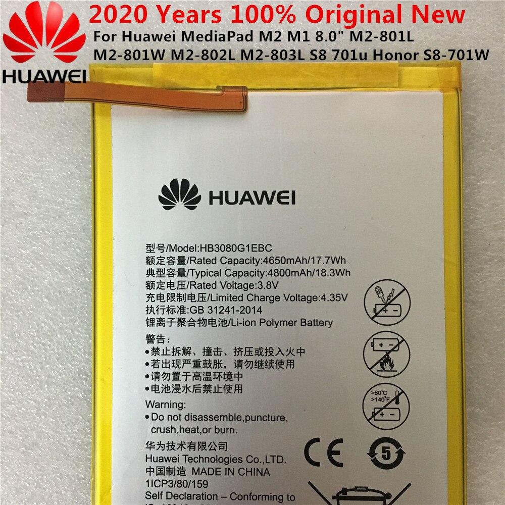 100% original hua wei 4800mah hb3080g1ebw para huawei mediapad t1 10 pro/T1-A21/T1-A21W / T1-A21L / T1-A22L / T1-A23L bateria
