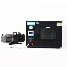 Vacuum-Pump Oven ZOIBKD 220V 25L Vane Rotary DZF-6020 And Black 2XZ-2 50hz Cu-Ft